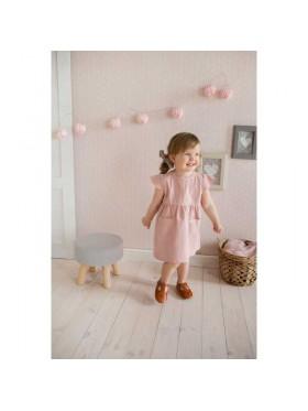 BABY ružové šaty